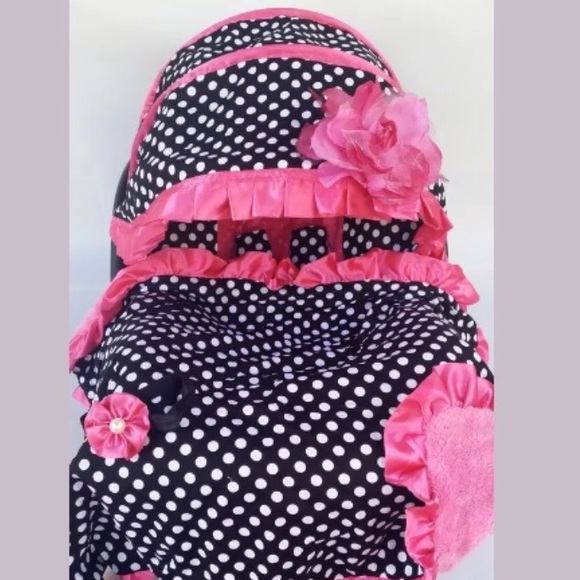 Handmade Other Baby Girl Car Seat Cover Poshmark